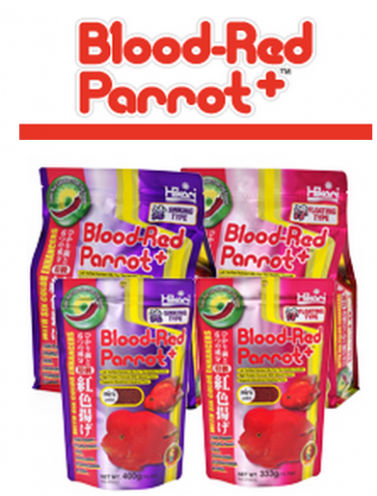 Blood Red Parrot Food