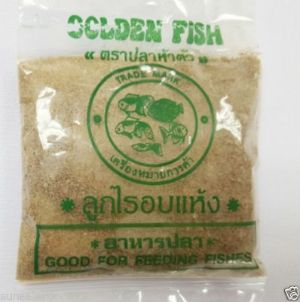 Flowerhorn fry food Moina Mosquito Larva