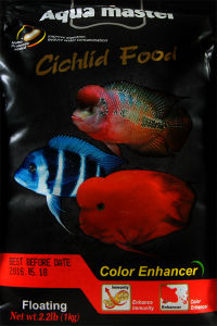 AquaMaster ULTRA PREMIUM Color Luster Cichlid Food