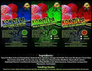 Kokzilla Flowerhorn Fish Food