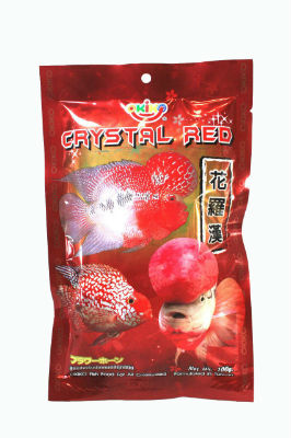 OKIKO CRYSTAL RED FLOWERHORN FOOD with FREE Shipping